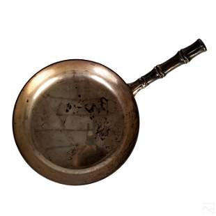 Tiffany & Co Sterling Silver Bamboo Frying Pan