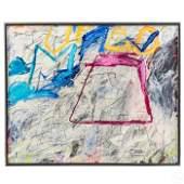 Pedro Simon (Spanish, b.1949) Abstract Painting