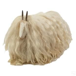 Les Lalanne Abstract Long Hair Sheep Art Sculpture