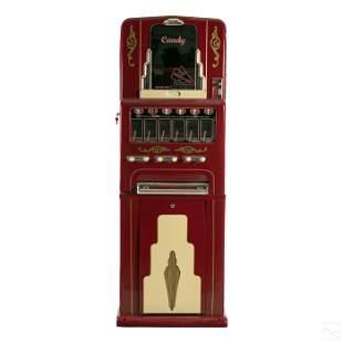 Stoner Art Deco 5' Vintage Candy Machine Dispenser