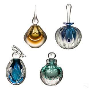 Studio Art Glass Vintage Perfume Bottle Collection