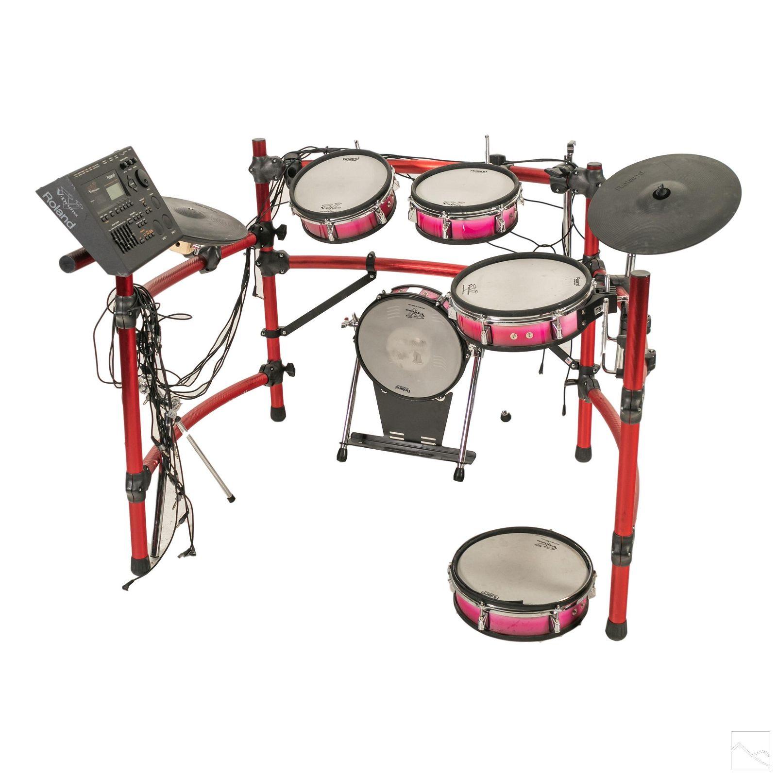Roland TD-10 Electronic 8 Piece Rock Star Drum Set