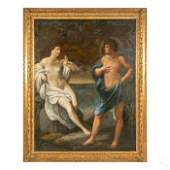 Venetian School Form Neoclassical Antique Painting