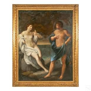 Venetian School Form Neoclassical Antique Painting