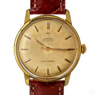 Omega Seamaster Vintage Working Automatic Watch