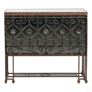 Gothic Revival Medieval Style Console Entry Table