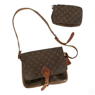 Louis Vuitton LV Travel Cosmetics Bag and Satchel