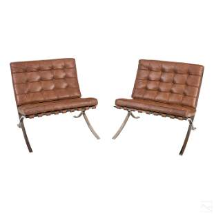 Mies Van Der Rohe Designer Modern Barcelona Chairs