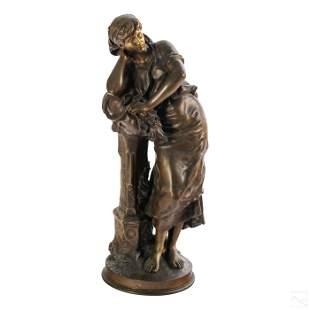 Mathurin Moreau 1822-1912 French Bronze Sculpture
