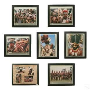 Sara Nichols Papua New Guinea Tribal Art Photo LOT
