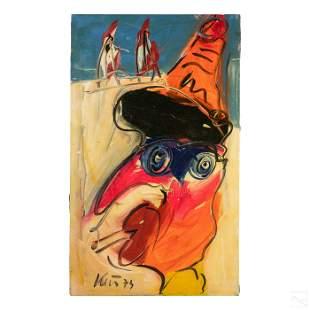 Peter Keil Neo Expressionism Art Portrait Painting