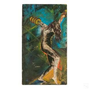 Royi Akavia b.1956 Expressionism Graffiti Painting