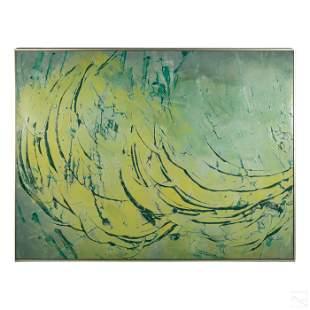 Walter Bannard 1934-2016 Modern Abstract Painting