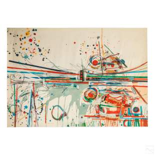 Samuel Middleton (1927-2015) Abstract WC Painting
