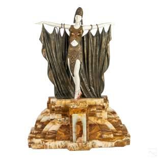 D.H. Chiparus 1886-1947 Art Deco Bronze Sculpture