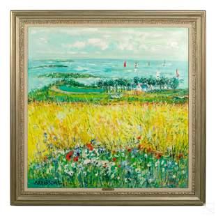 Yolande Ardissone b.1927 French Landscape Painting