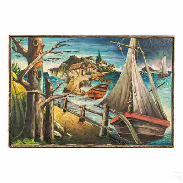 Jacques Enguerrand Gourgue Haitian Folk Painting