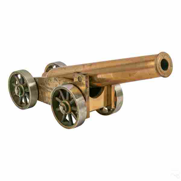 18th Century Style Bronze Decorative Signal Cannon
