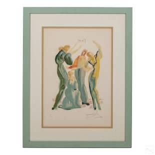 "Divine Comedy ""La Danse"" Print after Salvador Dali"
