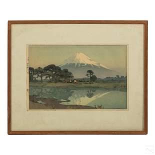 Hiroshi Yoshida (1876-1950) Japanese Woodblock Art