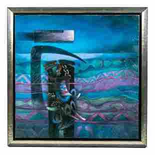 Fernando de Szyszlo (1925-2017) Abstract Painting