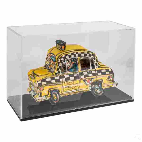 Red Grooms b.1937 Pop Art 3D Ruckus Taxi Sculpture