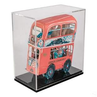 Red Grooms b.1937 Pop Art 3D London Bus Sculpture