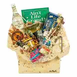 Tom Pergola (20C) Gift Bag Pop Art Sculpture & COA