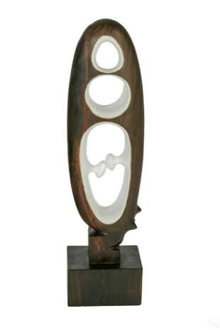 Augustin Cardenas 1927-2001 Modern Wood Sculpture