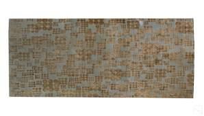 Tamarain Modern Blue & Champagne Carpet Area Rug