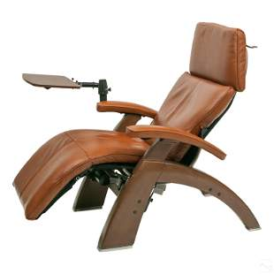 """Human Touch 45"""" Upholstered Leather Recliner Chair"""