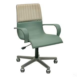 Giorgio Saporiti Italian Swivel Desk Office Chair