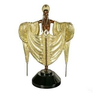 ERTE Radiance Bronze Art Deco Sculpture with COA