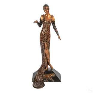 ERTE 1892-1990 Julietta Bronze Sculpture with COA