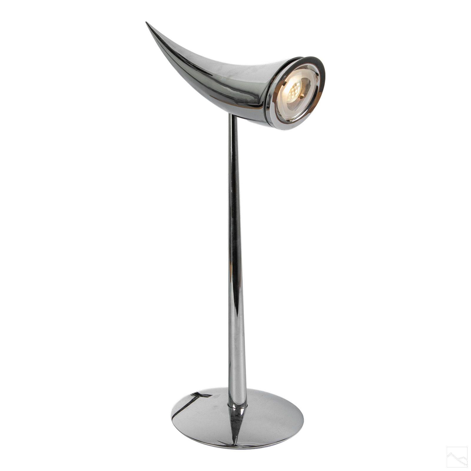 "Phillippe Stark 22"" Flos Italian ""Ara"" Table Lamp"