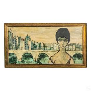 Antoine Villard 1867-1934 Modern Abstract Painting