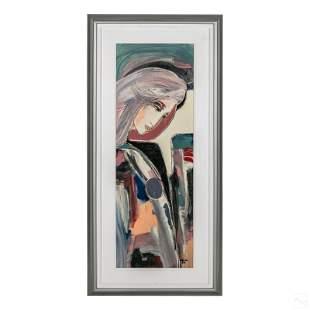Jean Claude Gaugy 20C Surrealism Portrait Painting