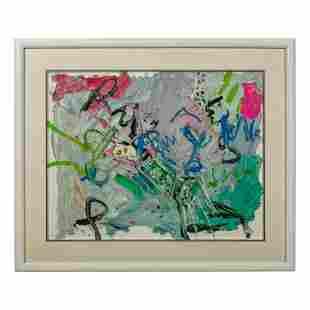Jay Milder b1934 New York School Abstract Painting