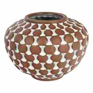 Andrew Quient b1950 Studio Art Pottery Modern Vase