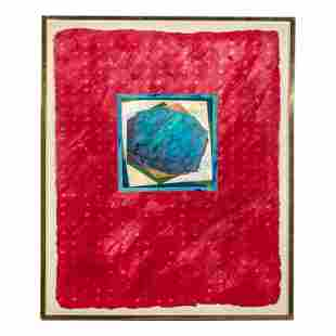 Stephanie K. Cole (1945-2011) Outsider Art Collage
