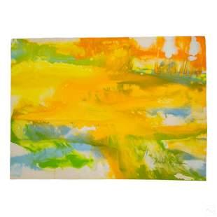 David Kupferman b1946 Lyrical Abstraction Painting