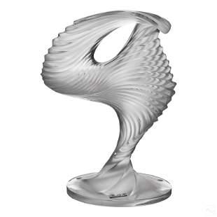 Lalique French Art Glass Trophee Dancer Sculpture