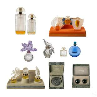 Lalique Paris French Perfume, Jewelry, and Bottles