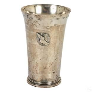 Tiffany Sterling Silver New York Athletic Club Mug