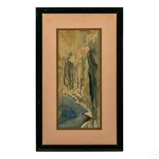 Earl Horter (1881-1940) Modern Landscape Painting