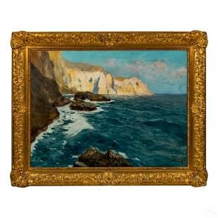 Giordano Felice 1880-1964 Modern Seascape Painting
