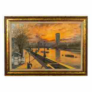 John L Chapman (b.1946) English Landscape Painting