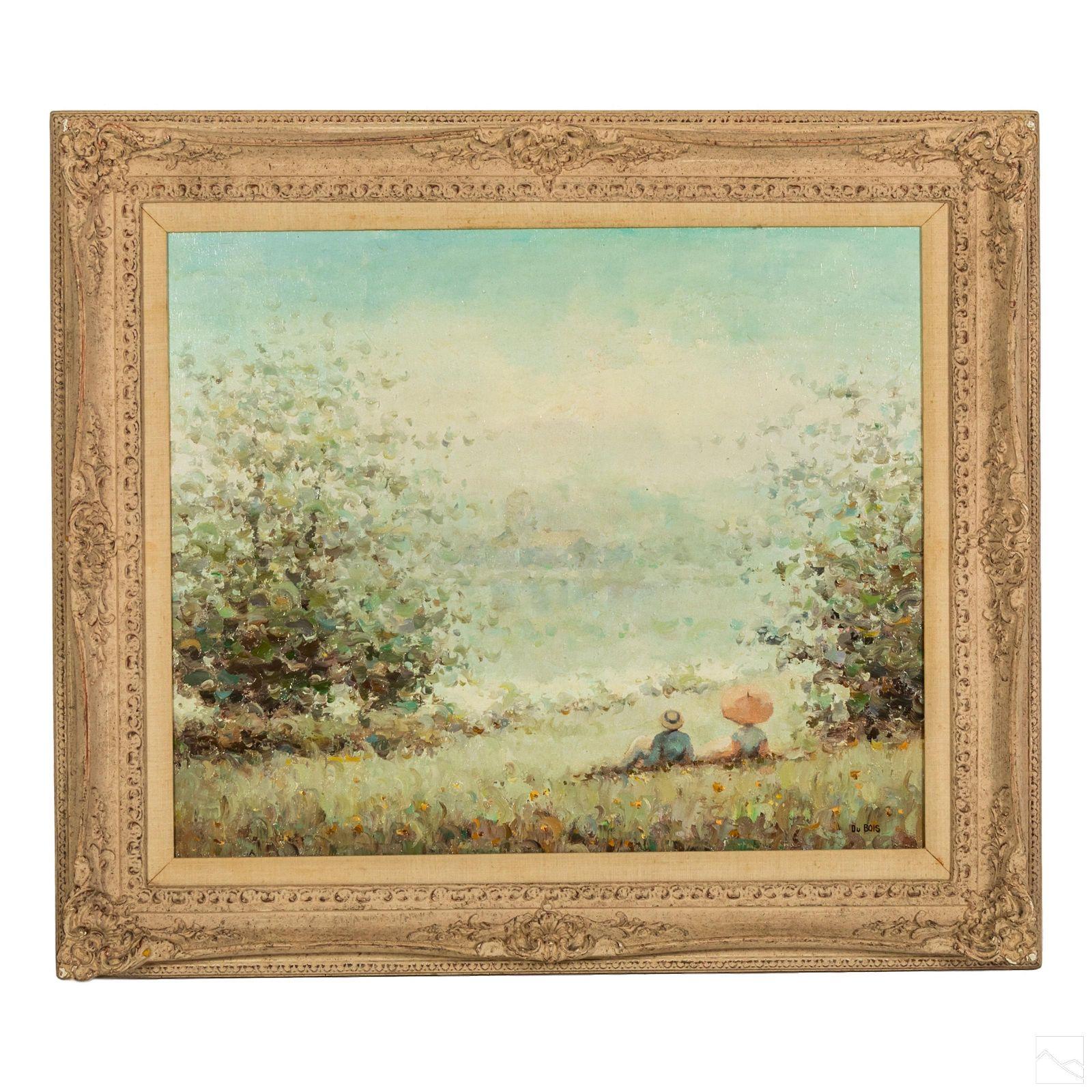 Pierre DuBois 20C French Modern Landscape Painting