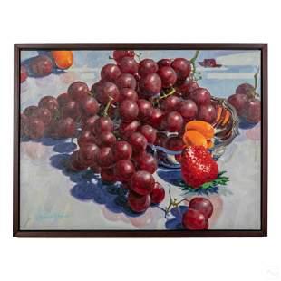 James F. King (20C) Modern Still Life Oil Painting
