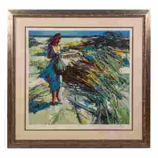 Nicola Simbari 1927-2012 Signed Pop Art Serigraph